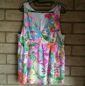 Lilly Pulitzer For Target Sleveless Top